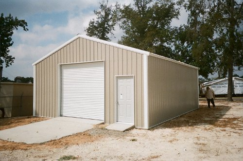 Steel Garage Builders Houston